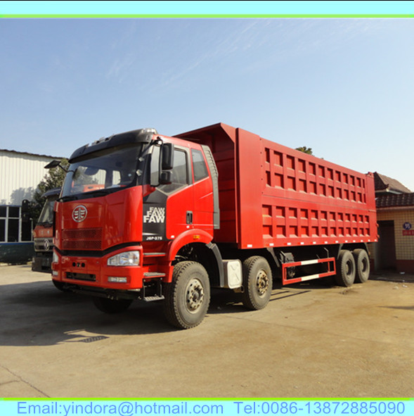 Faw J6m 8x4 40 Ton Prices For Tipper Truck